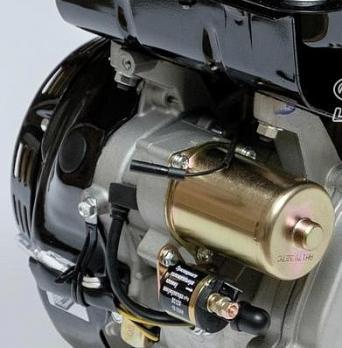 Двигатель Lifan 190FD-C Pro, 15 л.с.,  вал Ø25 мм, катушка 3 Ампера