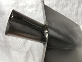 Лопата Траншейная титановая 1,5 мм_1